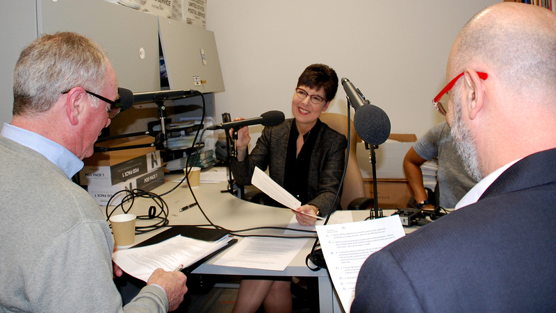 Pre-Taping Discussion For New Podcast, NASW Social Work Talks, Launching March 2018. © National Association of Social Workers