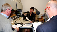 Pre-Taping Discussion For New Podcast, NASW Social Work Talks, launching 2018. © National Association of Social Workers