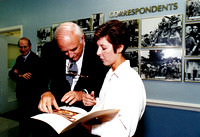 Kim M. Simpson With Secretary Of Defense, Les Aspin - The Pentagon, 1993.